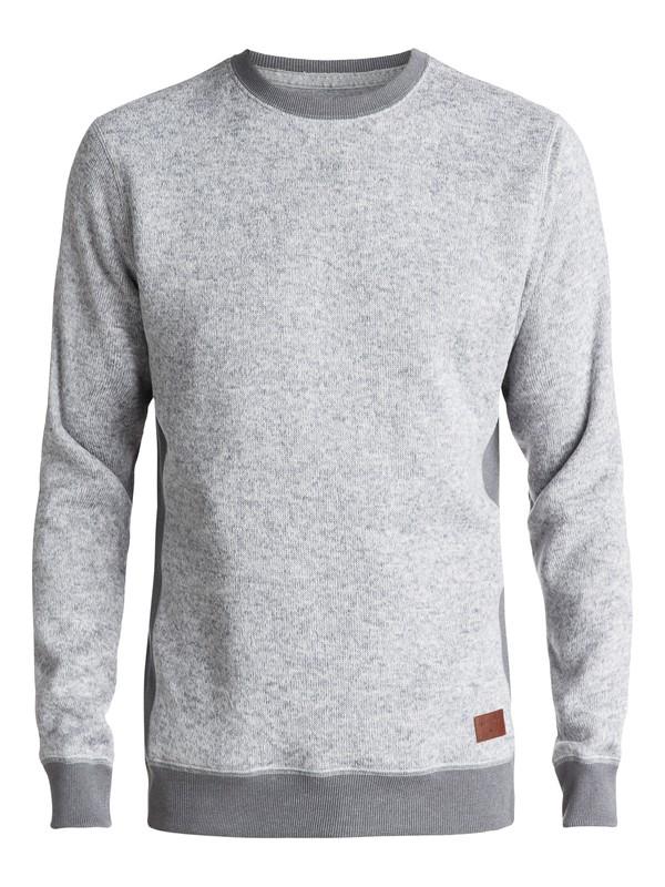0 Keller - Polar Fleece Sweatshirt Grey EQYFT03659 Quiksilver