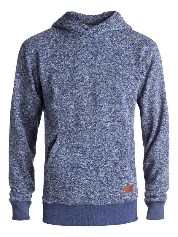 0 Keller - Sweat à capuche en polaire Bleu EQYFT03660 Quiksilver
