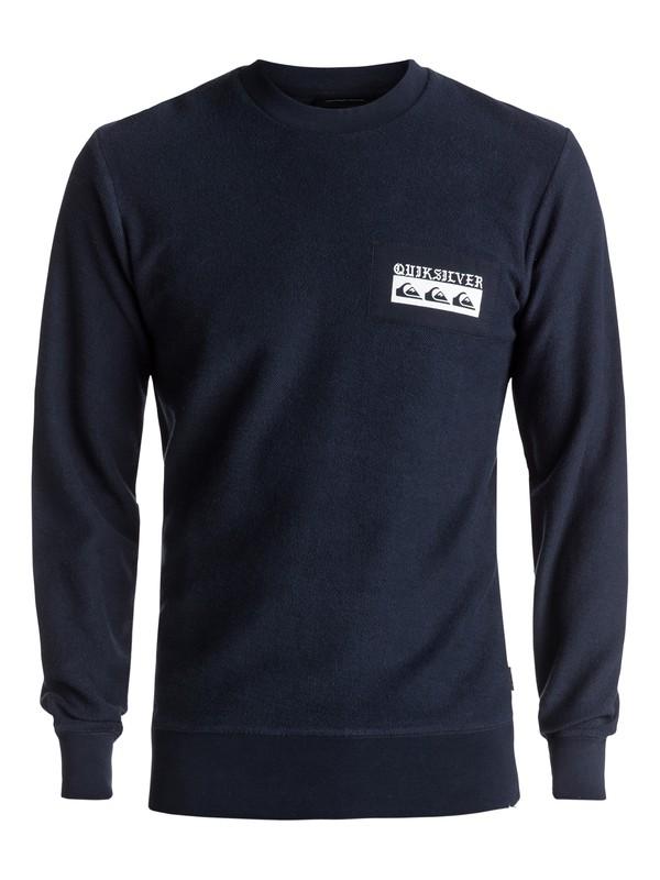 0 Spray Daze Sweatshirt Blue EQYFT03680 Quiksilver
