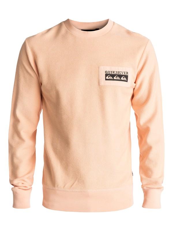 0 Spray Daze Sweatshirt Orange EQYFT03680 Quiksilver