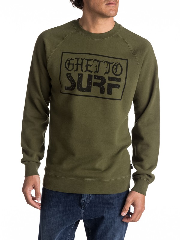 0 Ghetto Surf - Sweat  EQYFT03682 Quiksilver
