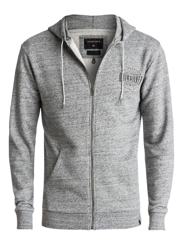 0 Jungle Forest Zip-Up Hoodie Grey EQYFT03684 Quiksilver