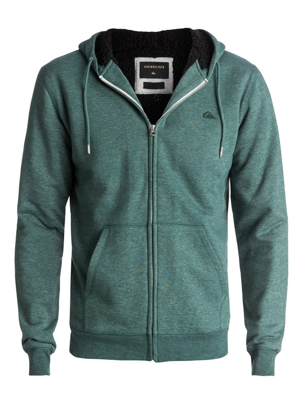 0 Everyday Sherpa Zip-Up Hoodie  EQYFT03695 Quiksilver