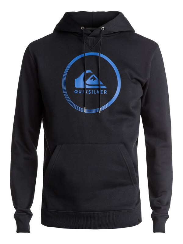 0 Big Logo Hoodie Black EQYFT03717 Quiksilver