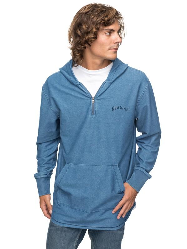0 Desska - Sweatshirt à capuche 1/2 zip Bleu EQYFT03744 Quiksilver