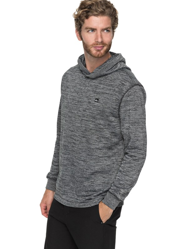 0 Kurzo - Sweat à capuche technique Noir EQYFT03755 Quiksilver