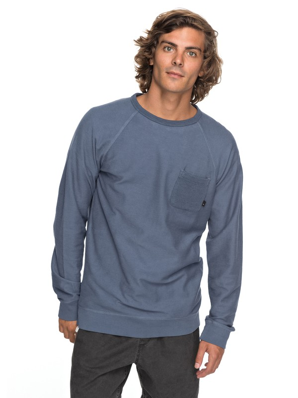 0 Baao Sweatshirt Blue EQYFT03765 Quiksilver
