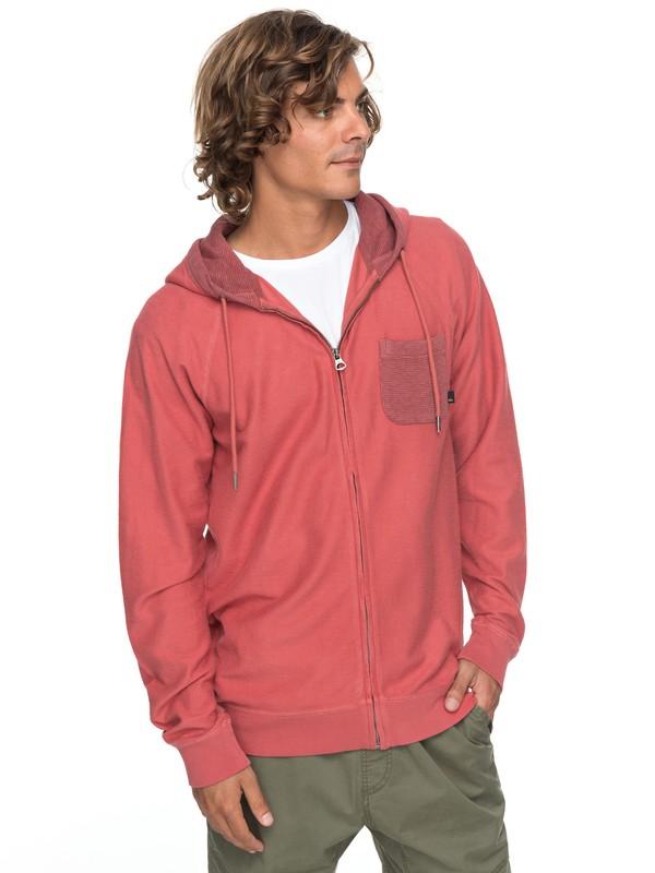 0 Baao Zip Zip-Up Hoodie Pink EQYFT03766 Quiksilver