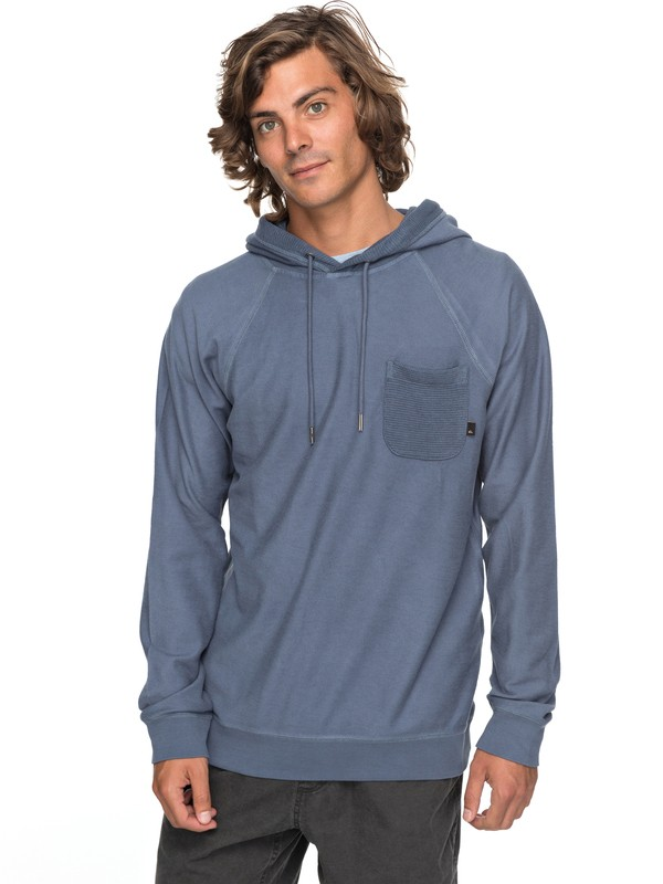 0 Baao Hooded Sweatshirt Blue EQYFT03767 Quiksilver