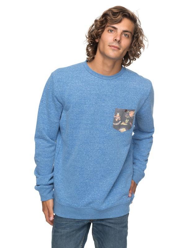 0 Buckmann - Sweatshirt Blau EQYFT03774 Quiksilver