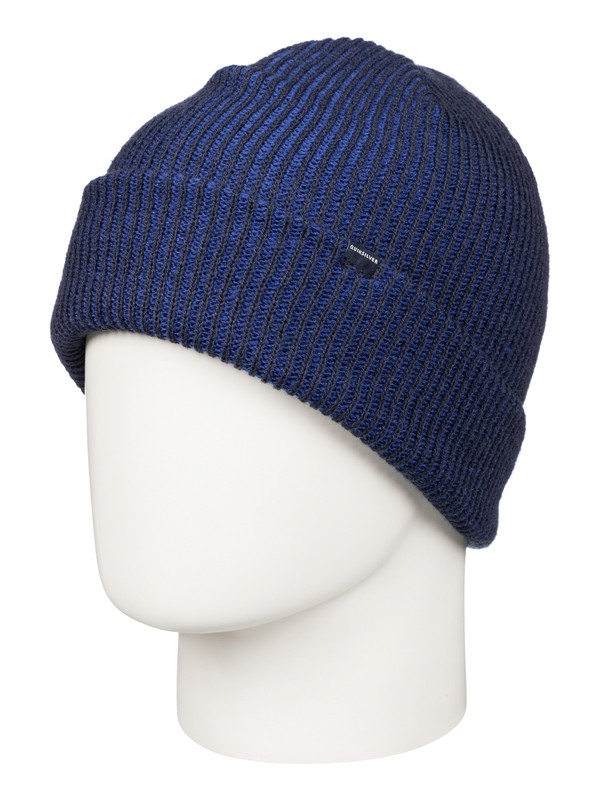 0 Preference Cuff Beanie Blue EQYHA03034 Quiksilver