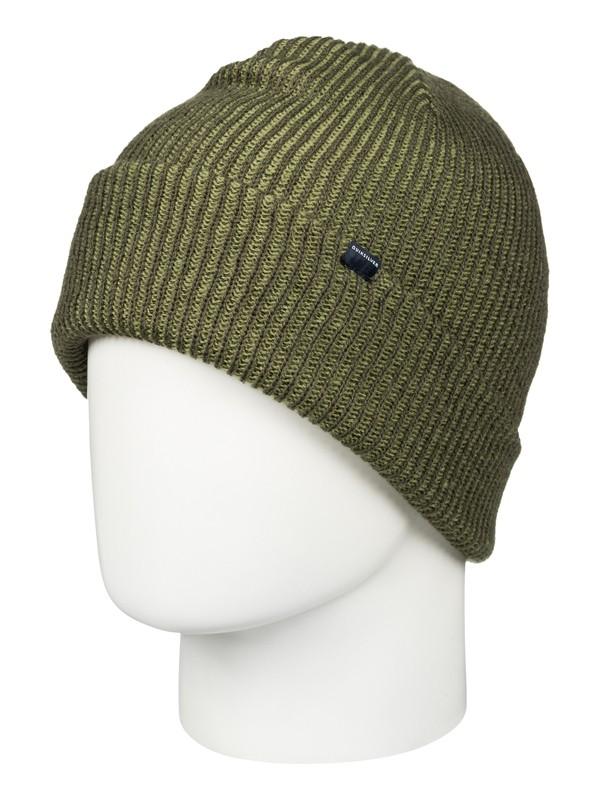 0 Preference - Bonnet à revers Marron EQYHA03034 Quiksilver