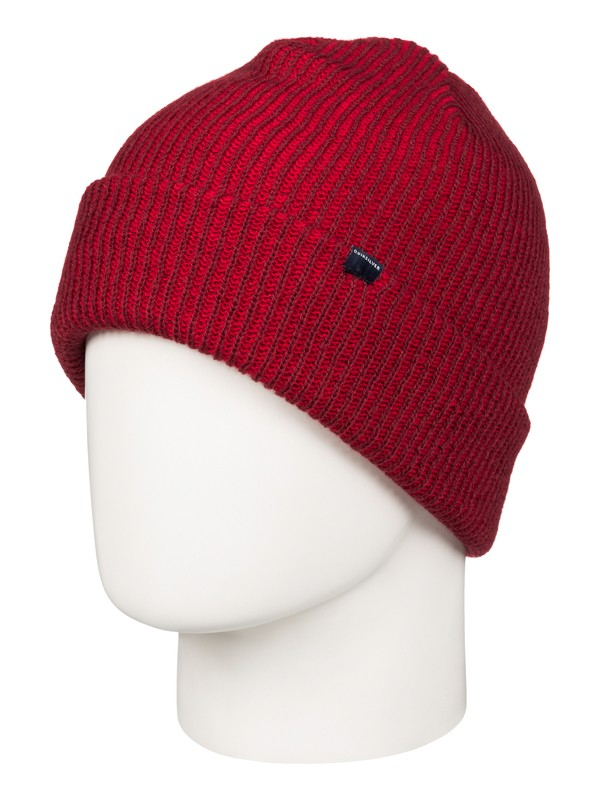 0 Preference Cuff Beanie Red EQYHA03034 Quiksilver