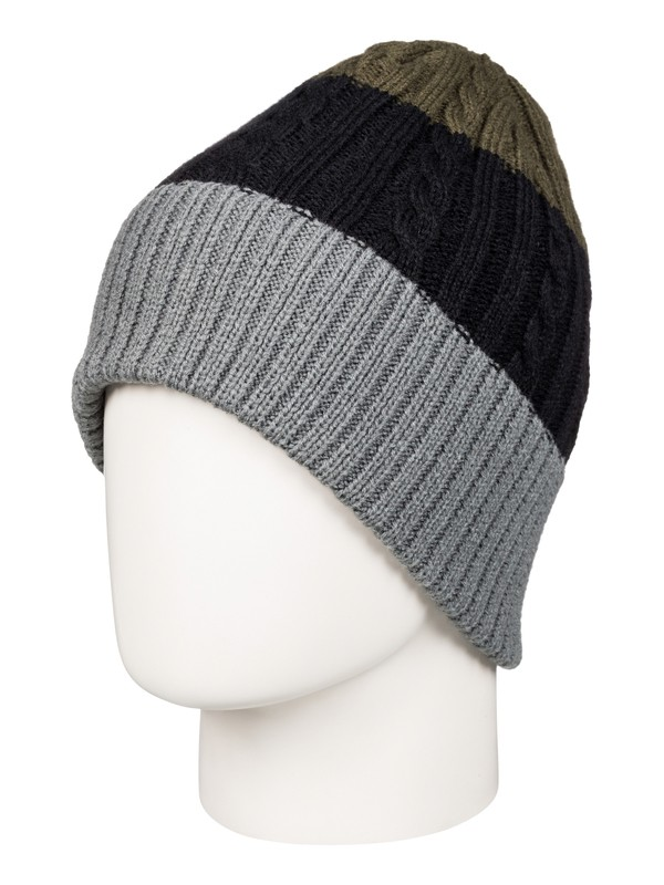 0 Look Up - Bonnet Noir EQYHA03035 Quiksilver
