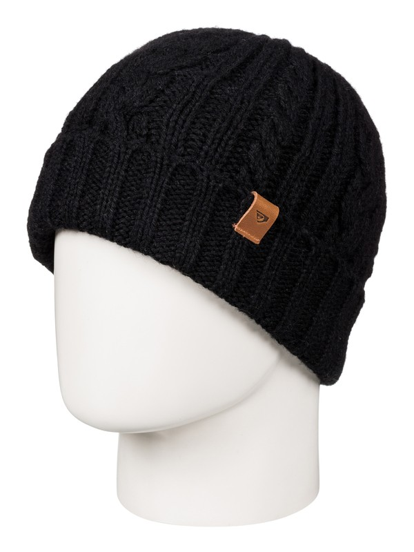 0 Flynt - Bonnet Noir EQYHA03063 Quiksilver