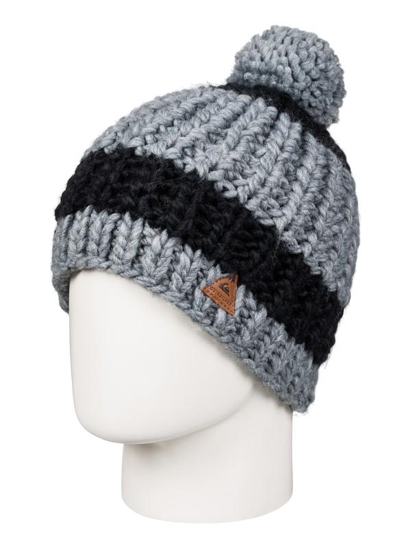 0 Shaw - Bonnet Noir EQYHA03064 Quiksilver