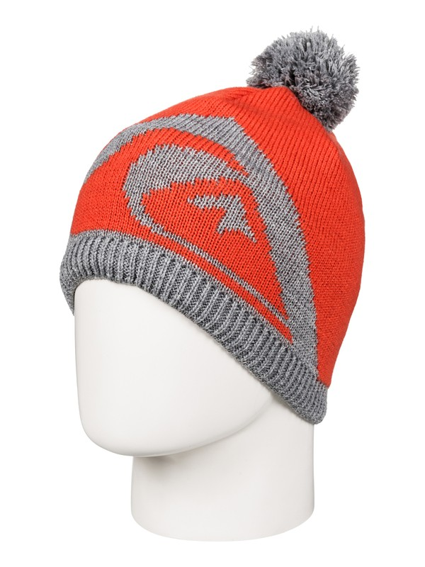 0 Barrow - Beanie Orange EQYHA03067 Quiksilver