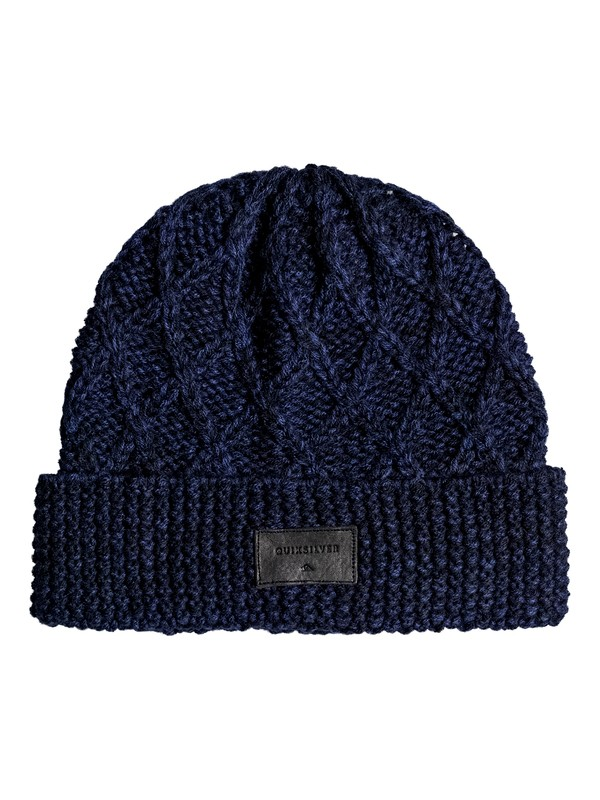 0 Performed Interest Beanie Blue EQYHA03096 Quiksilver
