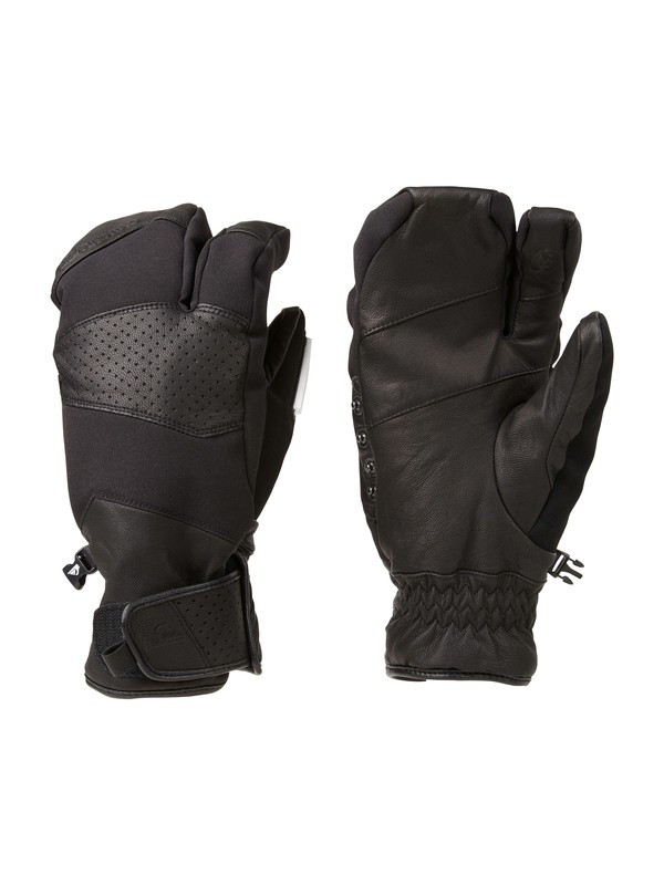 0 Travis Rice Natural 10K Gloves  EQYHN00017 Quiksilver