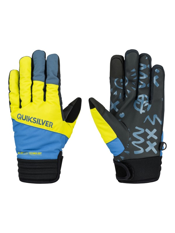 0 Method Pipe Gloves  EQYHN03015 Quiksilver