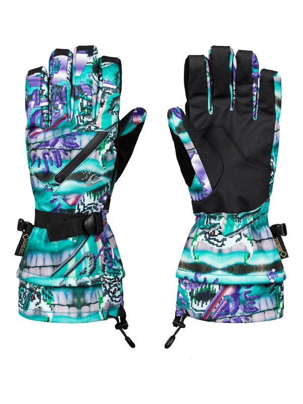 0 Julien David X Quiksilver Over Hill GORE-TEX Gloves  EQYHN03032 Quiksilver