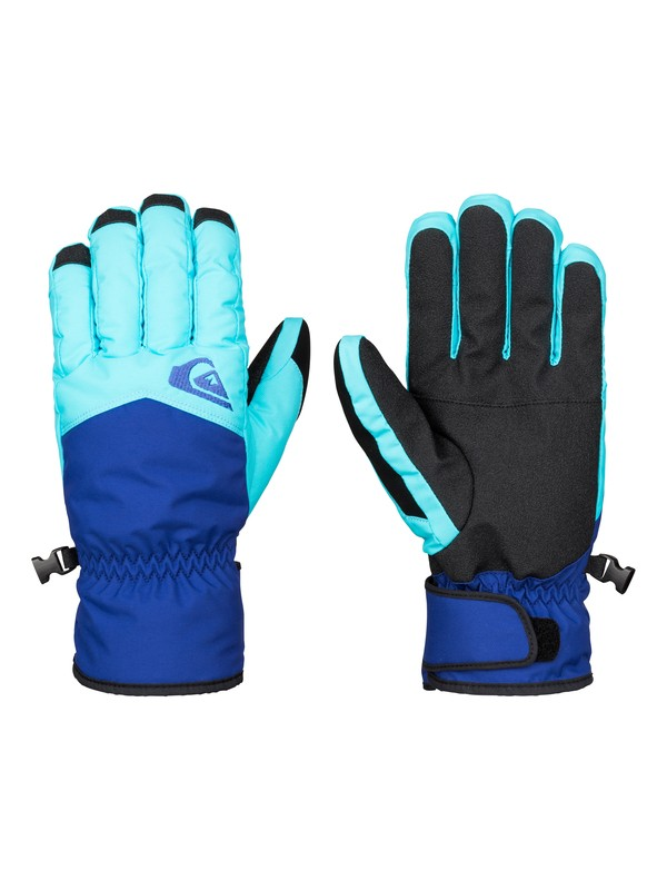 0 Cross - Gants de snow Bleu EQYHN03051 Quiksilver