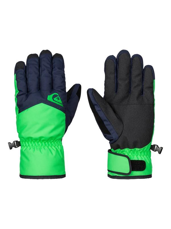 0 Cross - Gants de snow Vert EQYHN03051 Quiksilver