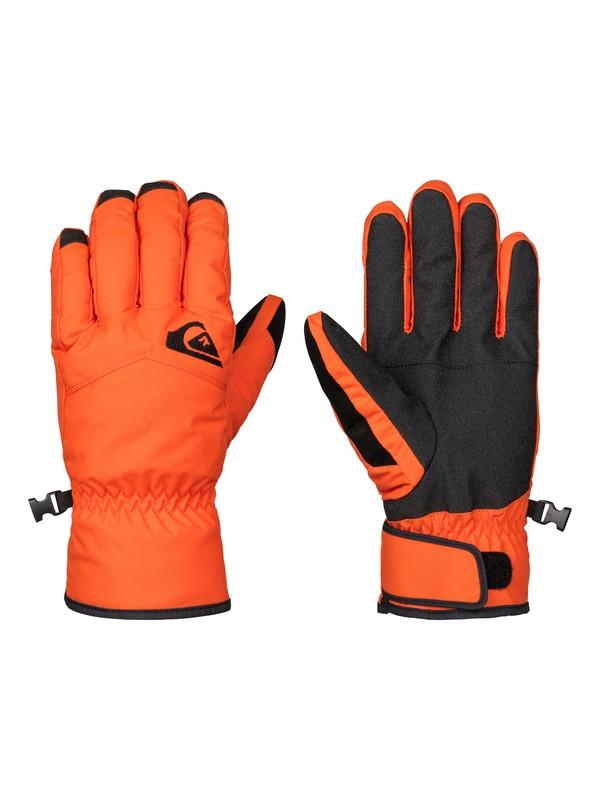 0 Сноубордические перчатки Cross Оранжевый EQYHN03051 Quiksilver