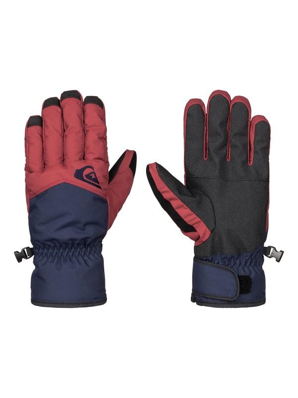 0 Сноубордические перчатки Cross Красный EQYHN03051 Quiksilver