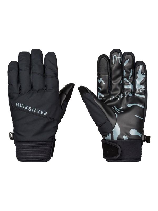0 Method - Gants de snow Noir EQYHN03054 Quiksilver
