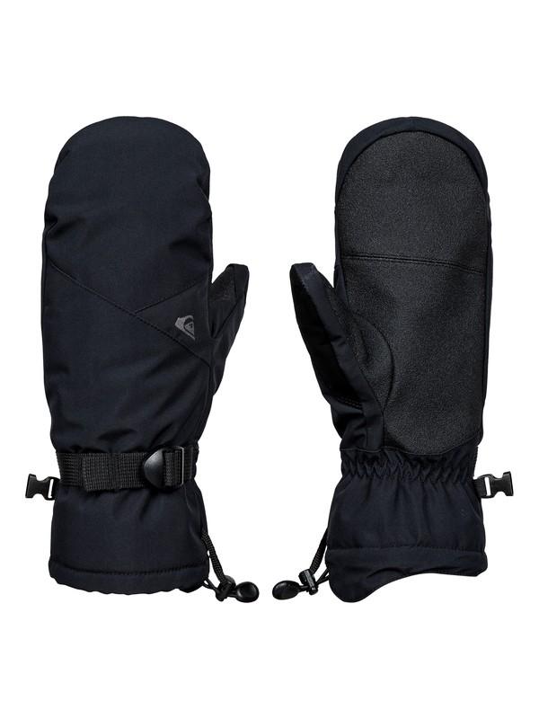 0 Mission - Snowboard/Ski Mittens Black EQYHN03078 Quiksilver