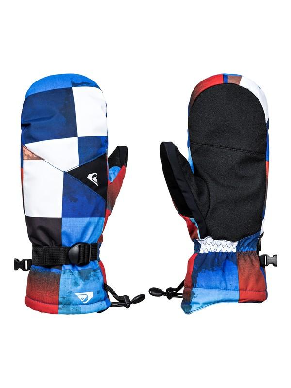 0 Mission - Snowboard/Ski Mittens Orange EQYHN03078 Quiksilver