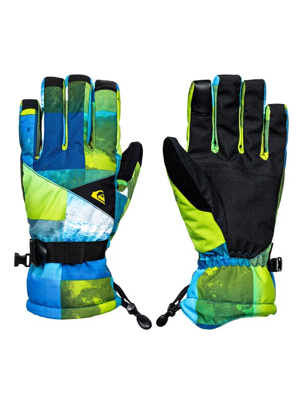 0 Mission - Snowboard/Ski Gloves Green EQYHN03079 Quiksilver