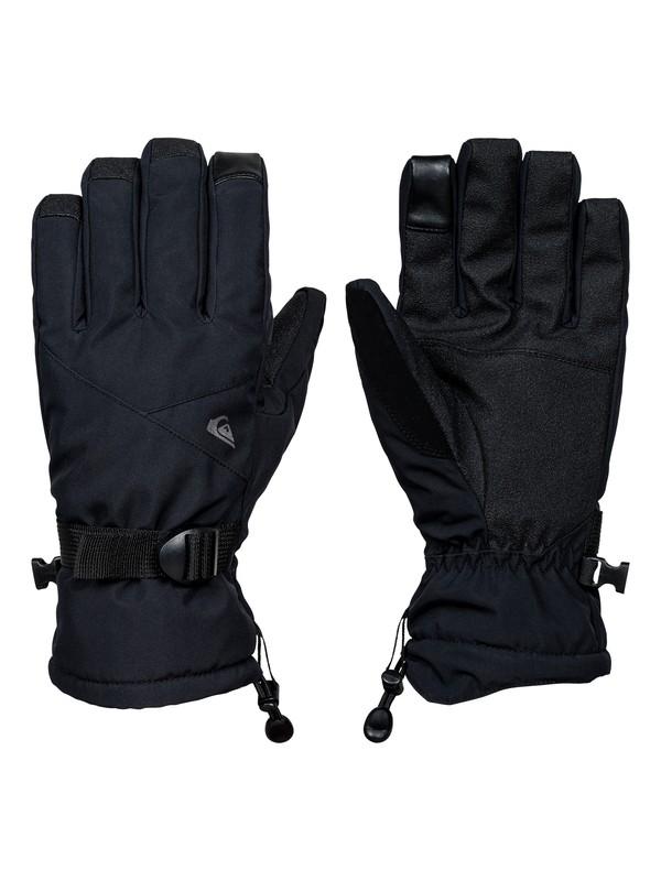 0 Mission Gloves Black EQYHN03079 Quiksilver