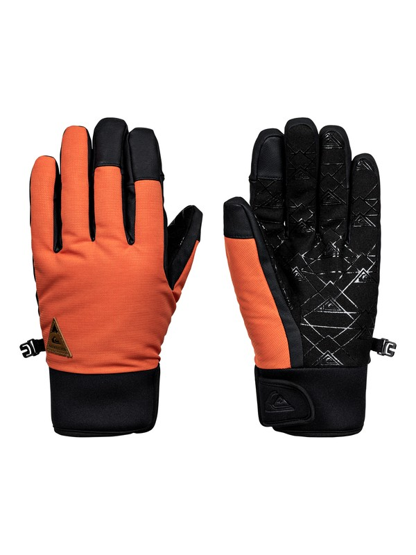 0 Method - Gants de snowboard/ski Orange EQYHN03082 Quiksilver
