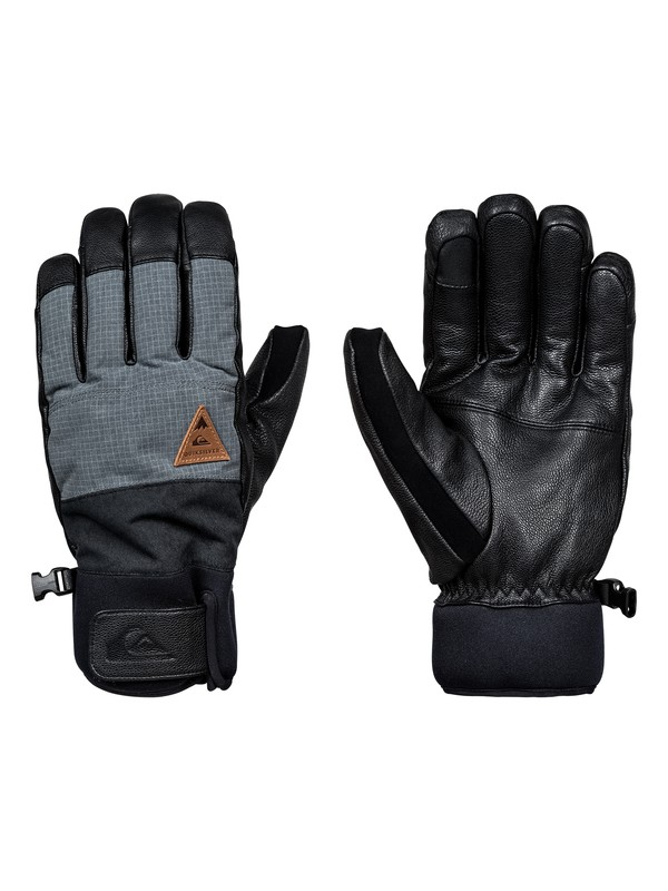 0 Squad Gloves Black EQYHN03087 Quiksilver