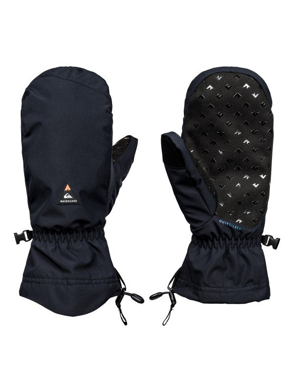 0 Lenticular - Moufles de snowboard/ski Noir EQYHN03092 Quiksilver