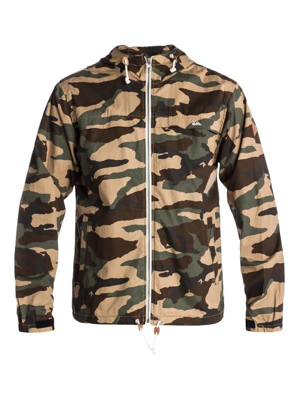0 Shoreline Camo Jacket  EQYJK00027 Quiksilver