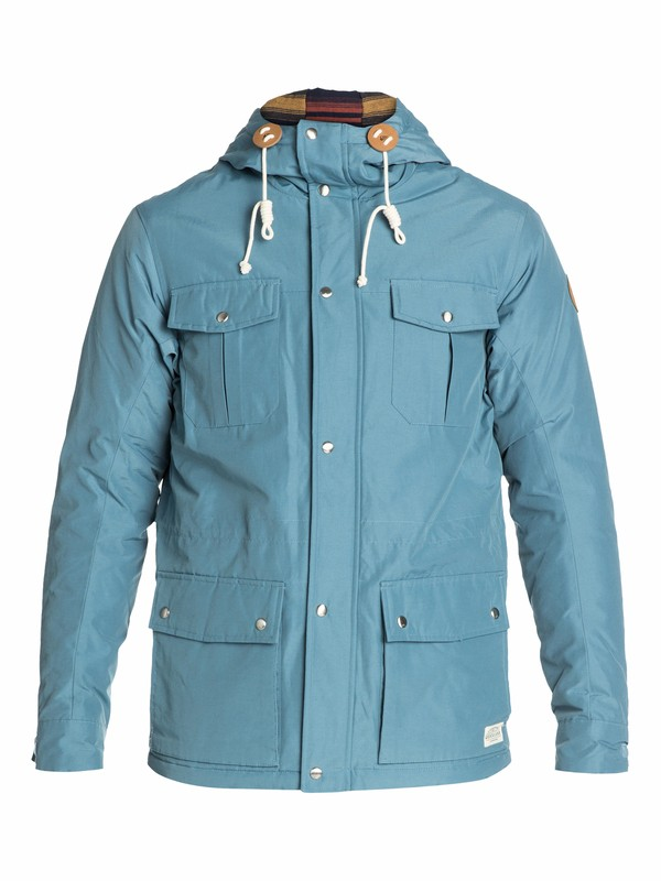 0 Long Bay Jacket  EQYJK03014 Quiksilver
