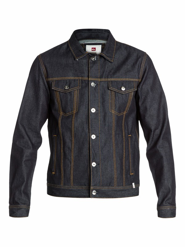 0 The Denim Jacket  EQYJK03022 Quiksilver