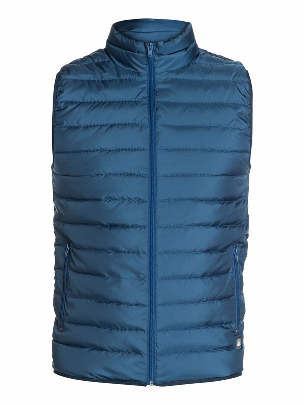 0 Scaly Gilet Slim Fit Jacket  EQYJK03025 Quiksilver
