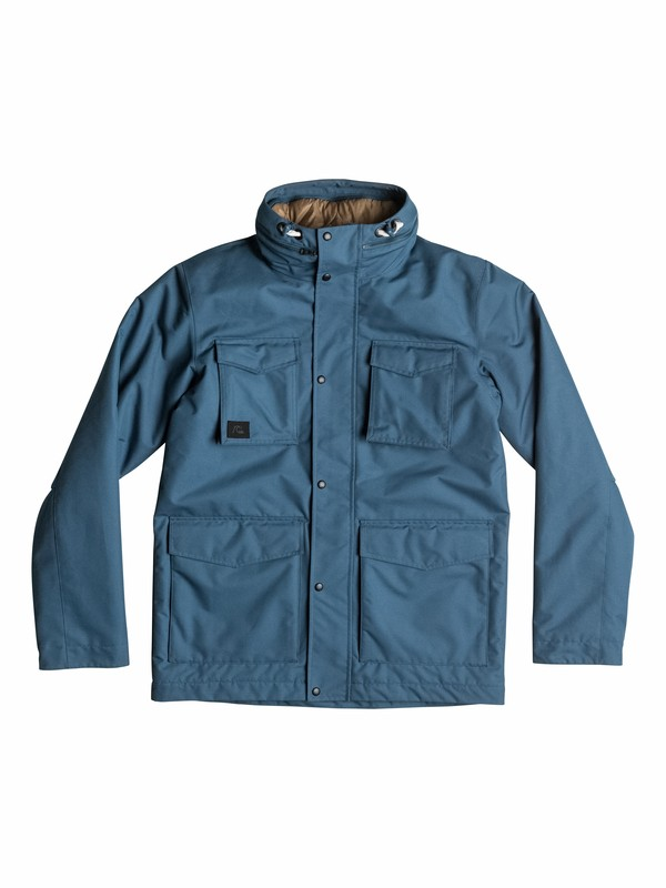 0 Elion 10K Cold Weather Jacket  EQYJK03124 Quiksilver