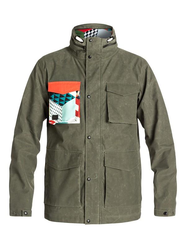 0 Alex Courtes Elion Dry Flight Jacket  EQYJK03142 Quiksilver