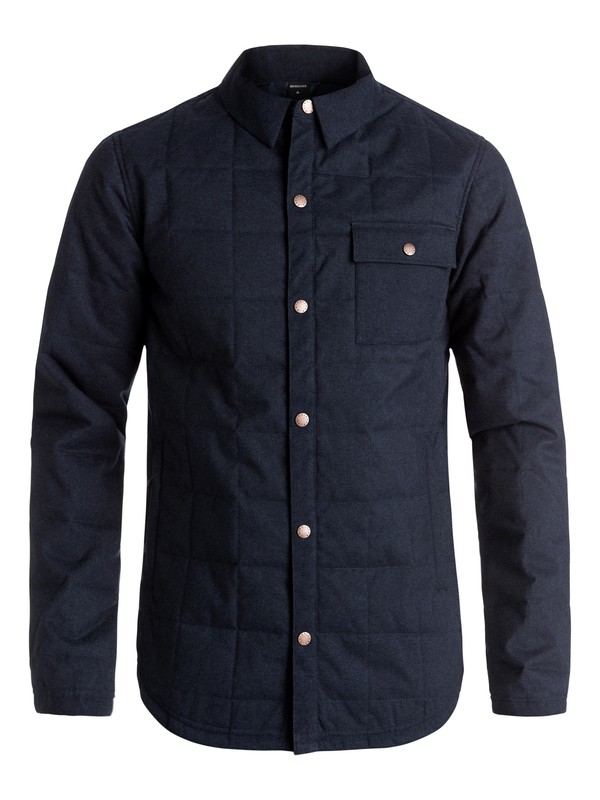 0 Agent - Veste chemise d'isolation thermique Bleu EQYJK03210 Quiksilver