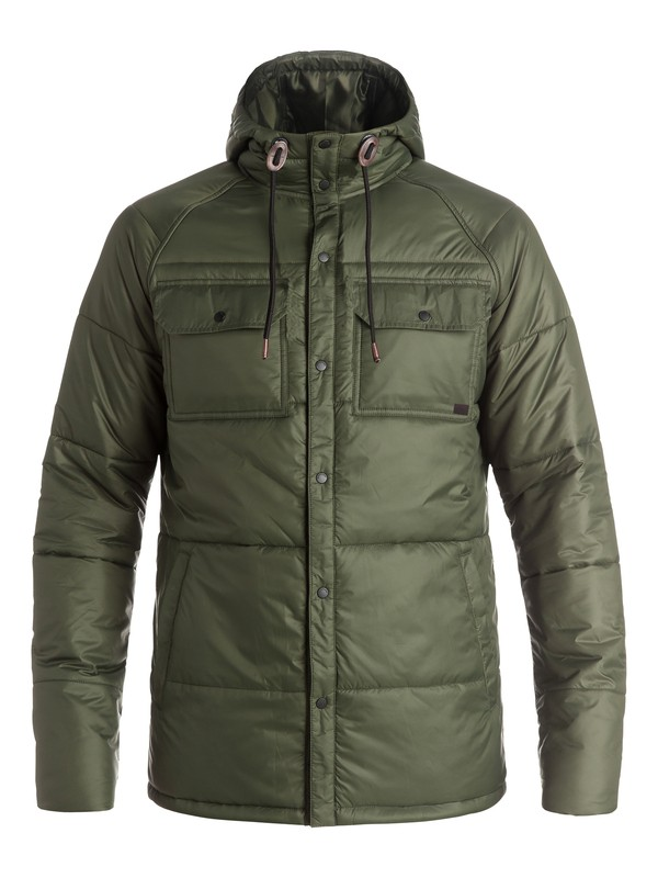 0 Mileage - Manteau d'isolation thermique Marron EQYJK03211 Quiksilver