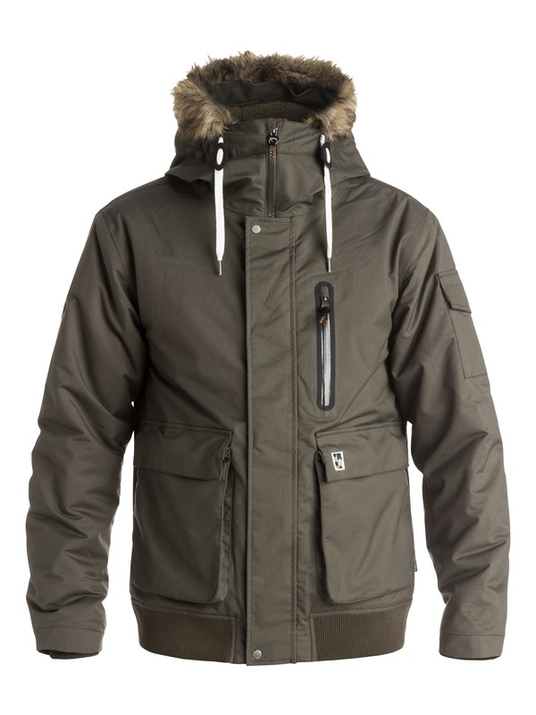 0 Arris - Manteau technique  EQYJK03216 Quiksilver