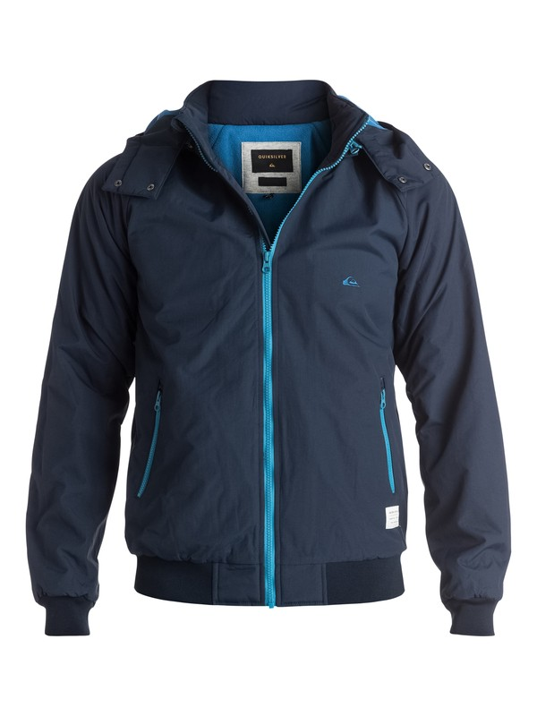 0 Out The Back - veste Bleu EQYJK03225 Quiksilver