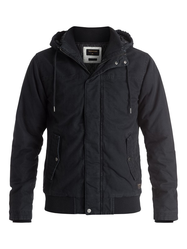 0 Everyday Brooks Jacket Black EQYJK03231 Quiksilver