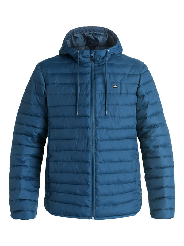 0 Everyday Scaly - Doudoune Bleu EQYJK03234 Quiksilver