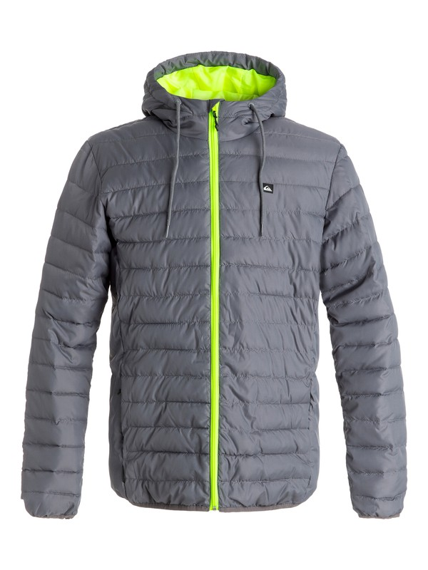0 Куртка Everyday Scaly Черный EQYJK03234 Quiksilver
